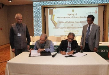 NSF Sri Lanka and ICSSR Sign Memorandum of Understanding
