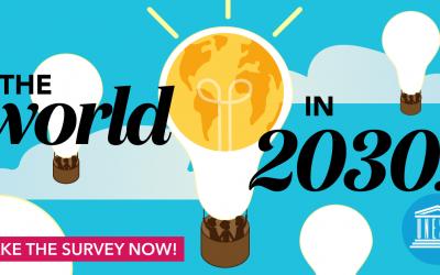 """UNESCO's """"The World in 2030"""" Public Survey"""