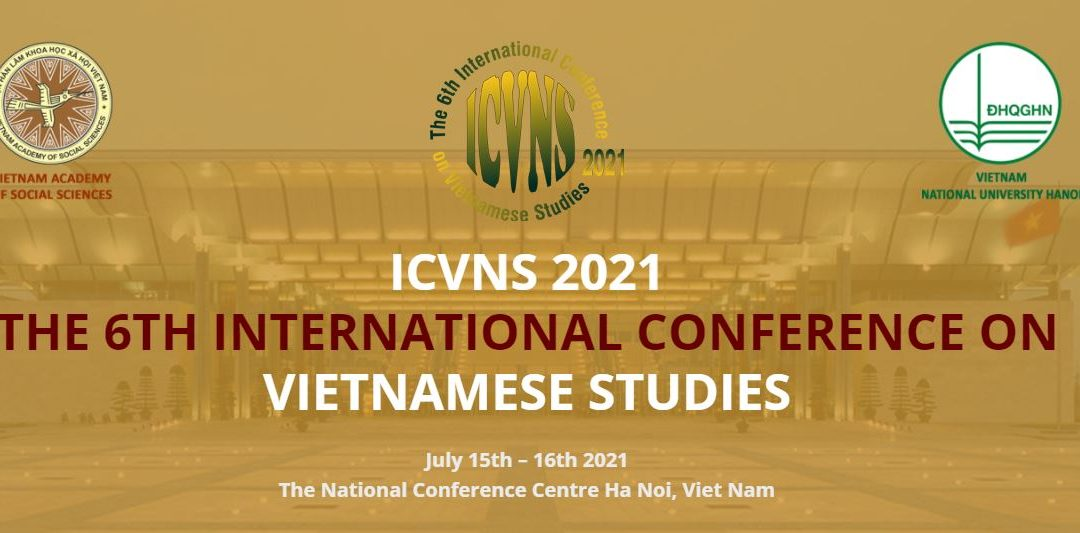 Call for Papers 6th International Conference on Vietnamese Studies