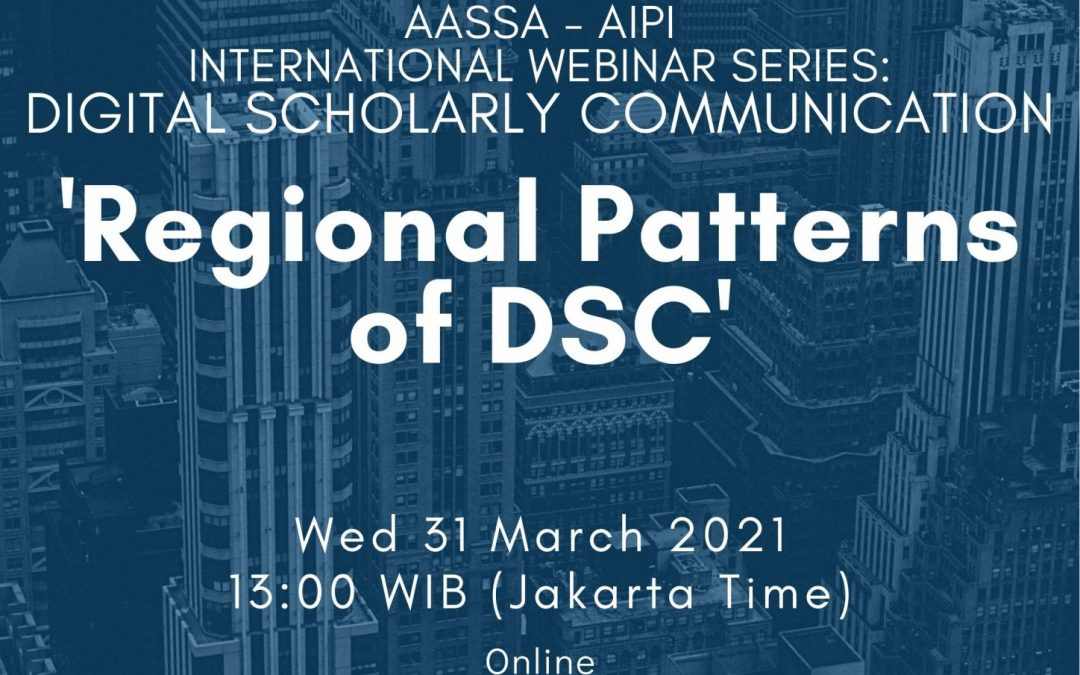 International Webinar on Digital Scholarly Communication