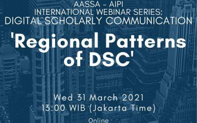 International Webinar on Digital Scholarly Communication