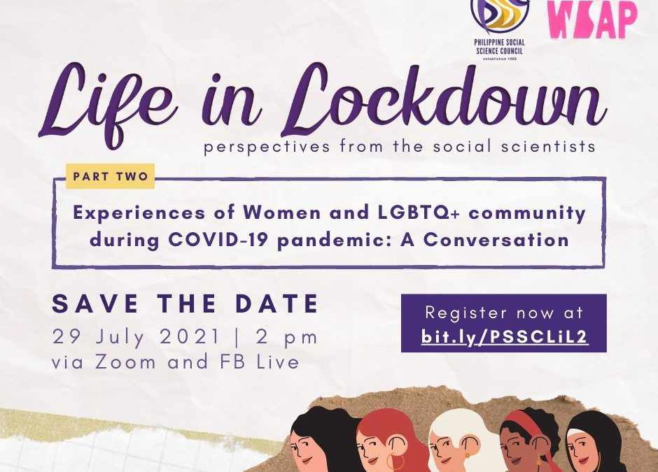 Life in Lockdown: Perspectives from the Social Scientists